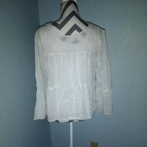 - Madewell blouse size S